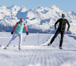Cross-country skiing (c) Gstaad Saanenland Tourismus