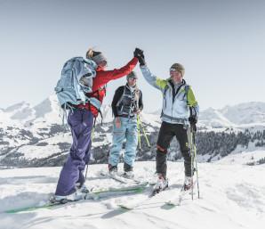 Skitouring (c) Gstaad Saanenland Tourismus