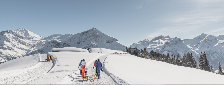 Sledging (c) Gstaad Saanenland Tourismus