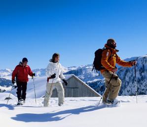 Snowshoe (C) Gstaad Saanenland Tourismus